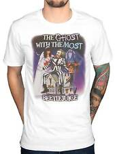 Official Beetlejuice The Ghost Con La Maggior Parte T-Shirt Cult Film