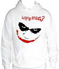 fm10 sudadera con capucha hombre JOKER Why So Serious ? Batman CINE Y TV