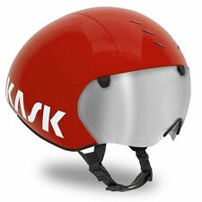 WORLD FIRST: 2016 KASK BAMBINO PRO RED HELMET +VISOR: Time Trial TT Bike