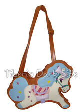 Baby Blue Hair Pony Horse Shaped Goth Gothic Sweet Lolita Kawaii Shoulder Bag