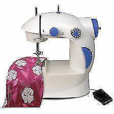 Compact and Portable 4 in 1 Mini Sewing Silai Machine foot pedal + hand Operated