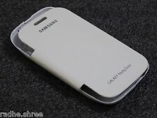 ★ Diary Style Flip Case Cover For Samsung Galaxy Young Duos S6312 ★ (White) ★