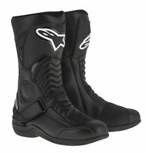 ALPINESTARS PIKES DRYSTAR BLACK WATERPROOF MOTORCYCLE BOOT TOURING COMMUTING