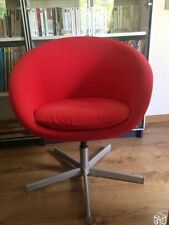 Chaise Ikea Rouge Skruvsta