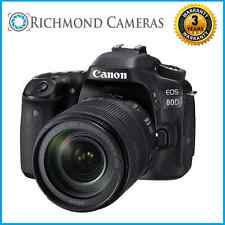 Canon EOS 80D DSLR Camera With EF-S 18-135mm IS USM Lens - 3 Year Warranty