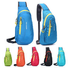 Outdoor Sports Messenger Sling Shoulder Bag Camping Hiking Backpack Chest Bag