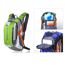 Hydration Backpack Daypack Bicycle Bike Cycling Packs Sport Camping Hiking Bag