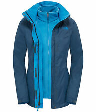 GIACCA THE NORTH FACE EVOLVE II TRICLIMATE INVERNALE DA PER TREKKING BLU