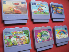 Vtech Vsmile / V-Motion / V-SMILE - Assorted - VARIOUS Game Cartridges / Games