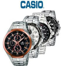 Casio Edifice Gents Stainless Steel Chronograph EF-326D / EF-539D Watch NEW
