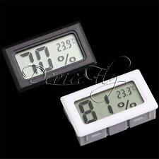 Mini Digital LCD Humidity Temperature Meter Indoor Thermometer Hygrometer New