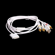 AV RCA Video USB Charging Cable Adapter for iPhone 3G iPod Nano Touch