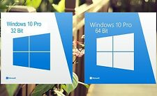 Microsoft Windows 10 Pro  Licence [For Both 32 & 64 Bit]