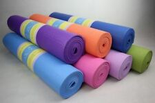 6 MM High Quality YOGA MAT for Exercise Fitness, Meditation and Gym Workout