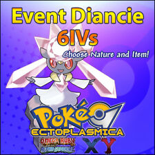 Diancie 6IV Hope Event 6IV Ribbon 6IVs Legendary - Pokemon XY ORAS ROZA Guide