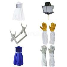 Beekeeping Equipment Bee Keeping Tool Coat Suit Gloves Bee Hive Holder Mesh Hat