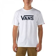VANS CLASSIC SHORT SLEEVE T-SHIRT WHITE/BLACK