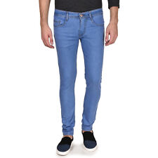 Routeen Men's Slim Fit Light Blue Jeans (JRMRNG188S1LB)