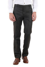 Routeen Brown Slim Fit Formal Pants for Men (TMMTRD007FS3CO)