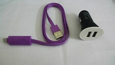 2 PORT DUAL UNIVERSAL GRIFFIN USB CAR MOBILE CHARGER FOR, ANDROID + IPHONE