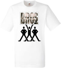 BROS T-SHIRT  FRUIT OF THE LOOM POLYESTER