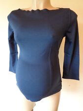 VANESSA KNOX @ ISABELLA OLIVER MATERNITY REVERSIBLE 3/4 SLEEVED TOP RRP £135