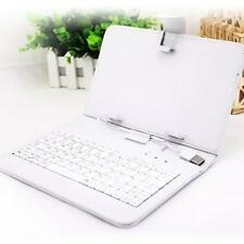 Leather Stand Case Cover Protector For 7 inch 8 inch Tablet PC w/ USB Keyboard