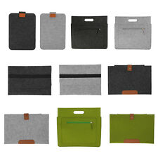 Woolen Felt Envelope Laptop Cover Case Sleeve for 11/12/13/15 inch Tablet