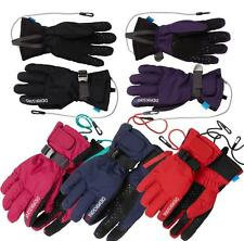 Didriksons Five Youth Ski Gloves Girls Boys Insulated Water Repellent Glove