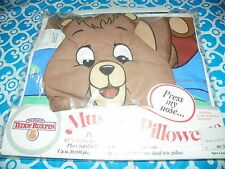 NEW Vintage 1985 World of Teddy Ruxpin Doll Musical Pillowcase RARE Alchemy #X11