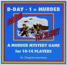 HOST A 1940's MURDER MYSTERY DINNER PARTY GAME ~ for 10-14 players
