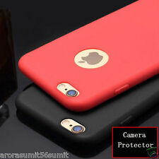 Colour candy TPU SOFT SILICON BACK COVER CASE For iPhone 7 7 plus with logo cut