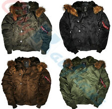 Alpha Industries N2B Parka Giacche Cappuccio Lungo 100105 Giacca invernale