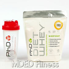 PhD Nutrition Diet Whey 1kg Slimming Weight Loss Protein Shake With Free Shaker