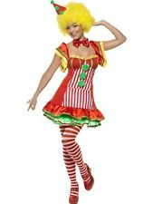 Boo Boo The Clown Fancy Dress Costume Ladies Red General Costumes