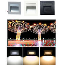3W LED Light Outdoor Decor Sensor Step-board Lamp Square Footlight Lamp