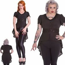 Moongazer Flowing Blouse   Gothic Steampunk Tailcoat with Moon and Stars