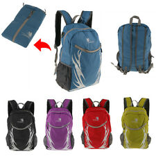 35L Large Lightweight Foldable Backpack Hiking Camping Rucksack Travel Bag
