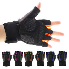 Breathable Half Finger Gloves for Motorcycle Bike MTB Bicycle Riding Cycling