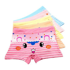 5 Pcs Baby Kids Girls Cotton Lovely Boxer Shorts Underwear Unsderpants Briefs