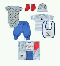 Luvable Friends 6 pc baby boy gift set (like Carter's)