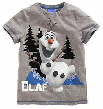 Boys Disney Frozen Olaf T Shirt Top Age's 7  9 10 Years NEW