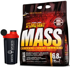Mutant Mass - 2200g / 6800 g Beutel Weight Gainer Mass Masseaufbau Hardgainer