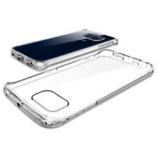CRYSTAL CLEAR HARD BACK GEL CASE TPU+PC COVER FOR SAMSUNG GALAXY MODELS