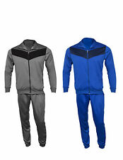 MEN'S TRICOT TRACKSUIT RUNNING JOGGING EXERCISE TROUSER JACKET SPORTS CASUAL