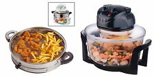 New 12L Litre Halogen Oven Multi Cooker 1300W + AIR FRYER RING /ATTACHMENT / ACC