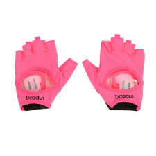 Women's Yoga Fitness Gym Half Finger Anti Slip Gloves Sports Exercise Equipment