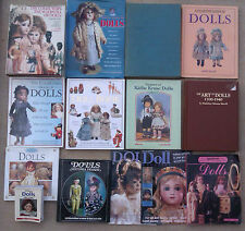 SELECTION OF BOOKS ON DOLLS & DOLL COLLECTING BOOKS
