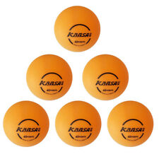 Pack of 6 40mm Table Tennis Balls for Ping Pong Training