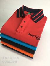 Benetton Branded Polo Neck  T-Shirts /T Shirts Half Sleeve/Hand (Export Surplus)